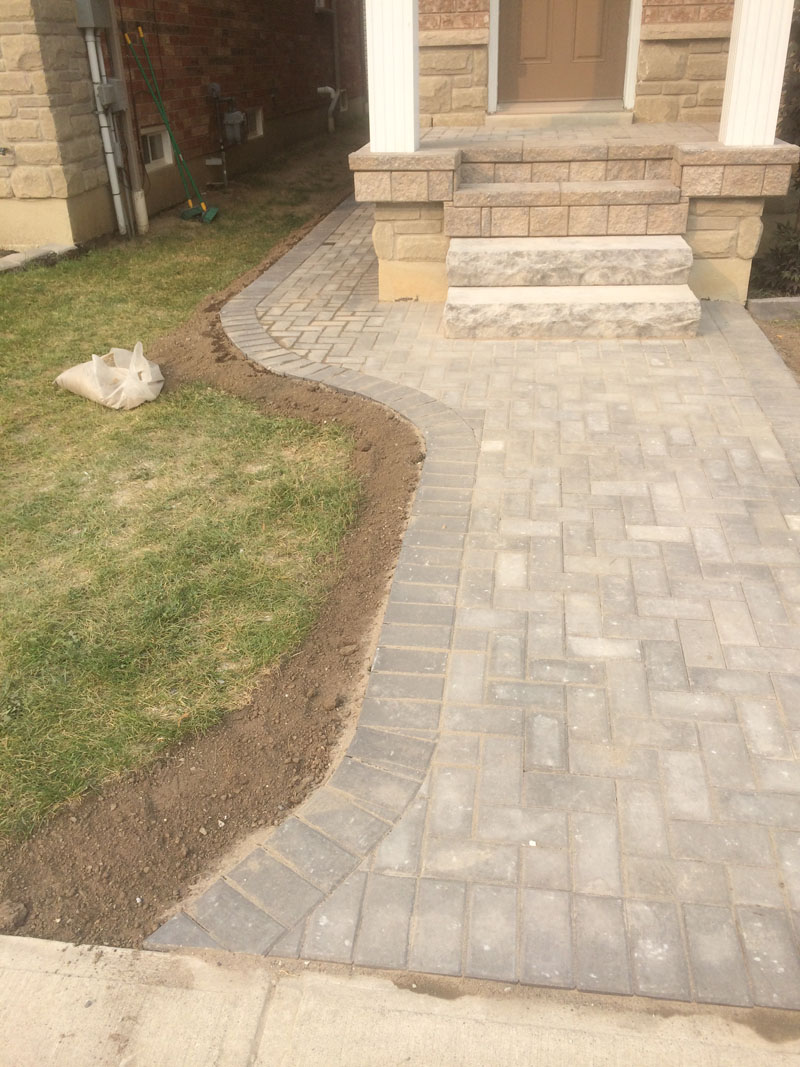 Recent interlocking and concrete projects markstone for Small concrete projects