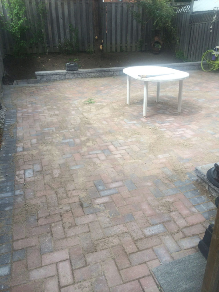 recent interlocking and concrete projects markstone landscaping
